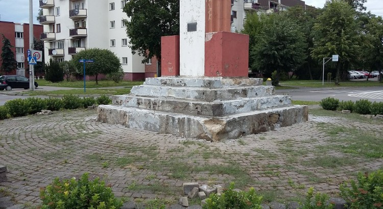 Pomnik Henryka Sienkiewicza w Łukowie. Fot. Łuków Historia